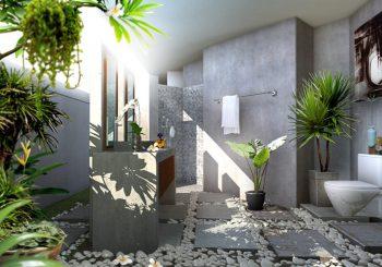 khuôn viên xanh trong nhà